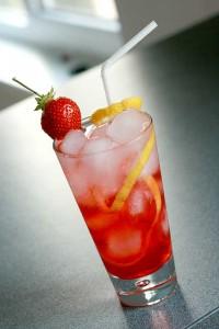 Gin Fizz raspberry